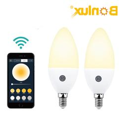 Bonlux APP Control Bluetooth Smart Candle Lamp WiFi 5W C35 1