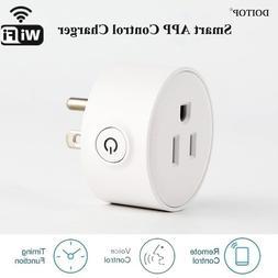 DOITOP APP Control Smart Wifi Plug <font><b>Charger</b></fon