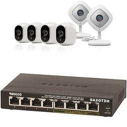 Arlo Ultimate Security System - 4 Wire-Free Outdoor HD & 2 A
