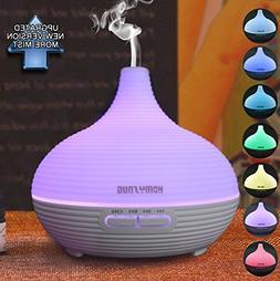 300ml Aromatherapy Essential Oil Diffuser, HomySnug Textured