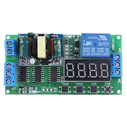 110V LED Automation Delay Timer Control Switch Relay Module
