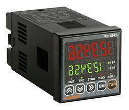 AUTONICS CT6S-2P4 Counter&Timer, 1/16 DIN, 6-Digit, LED, 2 P