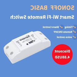 Sonoff Basic WiFi Wireless Switch App Remote <font><b>ON</b>