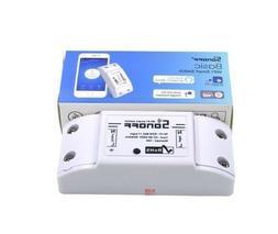 SONOFF Basic Wireless WiFi Switch Smart Remote Control Autom