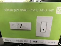 Belkin Wemo WiFi Light Switch + Smart Plug Bundle - $90 Valu