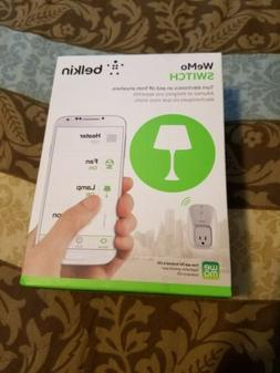 BRAND NEW Belkin WeMo Switch Smart Plug Wi-Fi for iOS and An