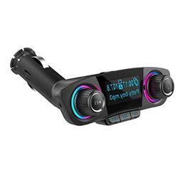 LiPing Car Kit Handsfree Wireless Bluetooth FM Transmitter L