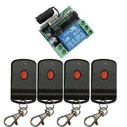 Lejin DC 12V 1CH Learning Code Wireless Remote Control Switc