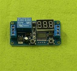 QIXINSTAR DC 12V LED Display Digital Delay Timer Control Swi