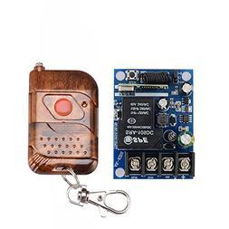 Lejin DC 12V 24V 36V 48V Relay Receiver 40A RF Wireless Remo