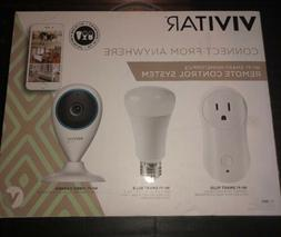 Vivitar Deluxe Wi-Fi Home Automation Starter Kit Camera, Bul
