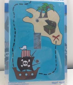 Jasco Designer Wall Plate Pirate Themed Single Toggle Light