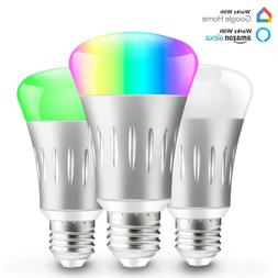 Dimmable E27 RGB LED Wifi Smart Bulb Light Bulbs For Amazon