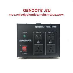 2000 Watt Step Up/Down Electrical Power Voltage Converter Tr
