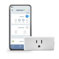 Leviton DW15P-1BW Decora Smart Wi-Fi Mini Plug-In Outlet, No