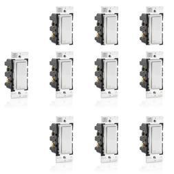 Leviton DW15S-1BZ Decora Smart Wi-Fi 15A Universal LED No Hu