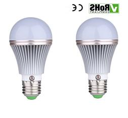 2-Pack E27 5W 450Lumens LED Dusk to Dawn Sensor Light Bulbs