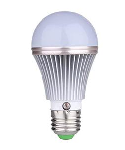 E27 5W LED Dusk to Dawn Sensor Light Bulbs  Built-in Photose