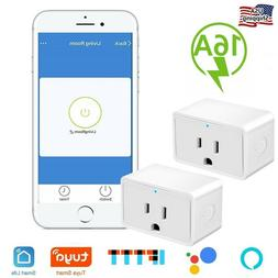 1x Nexete Smart Wifi Mini Plug Outlet Swtich Work With Alexa
