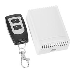 Electronic DC 12V 10A 2-CH Wireless Remote Controller Switch