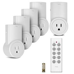 Etekcity Energy Saving Remote Control Electrical Plug & Powe