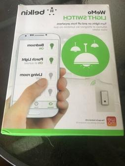 Belkin F7C030FC Wemo Smart Light Switch - Brand New