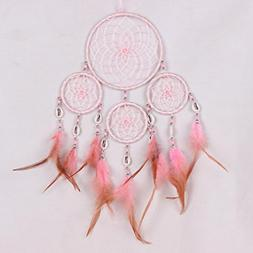 LiPing Feather Dream Catcher Mobile Hanging Ornaments with B