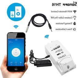 <font><b>Sonoff</b></font> TH16 Smart Wifi Switch Monitoring