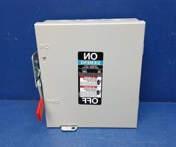 SIEMENS GF321N 30A 240V 3-Pole 4-Wire Fusible General Duty S