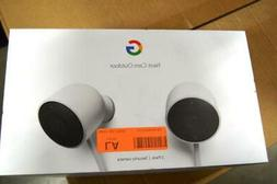 Google NC2400ES Nest Cam Outdoor Security Camera - 2 Pack-