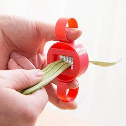 LiPing Green Bean Slicer Cutter Bean Stringer Remover Peeler