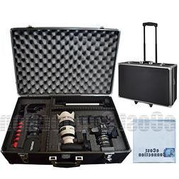 eCostConnection Extra Large Hard Camera/Video Equipment Case