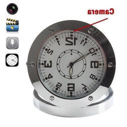 Hidden Clock Camera Spy Motion Home Desk Table Security Came