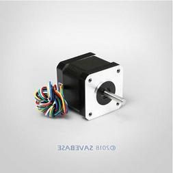 Home Automation 42x40mm Nema 17 Stepper Motor High Torque Lo