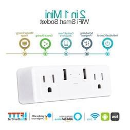 Home Automation App Remote Control WiFi Smart Socket US Plug