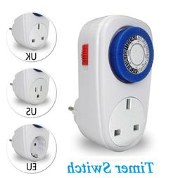 Home Automation Appliance Outlet Timer Switch Programmable S