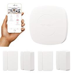 MESMART Home Automation Kit Smart Hub+4pcs Door Sensors, Pri
