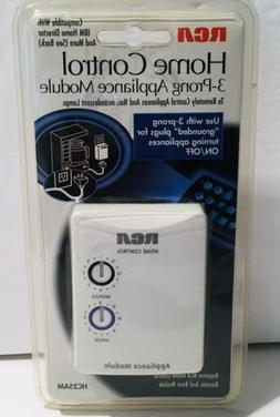 RCA Home Control 3 Prong Appliance Module  # HC25AM New Fact
