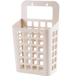 "LiPing 10"" Home Laundry Hamper Basket Bathroom Wall For Toil"