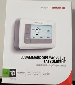 NEW HONEYWELL HOME T5 7 DAY PROGRAMMABLE THERMOSTAT RTH7560E