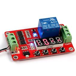 HOMREE 18 Kinds of Functions in One DC 12V Multifunction PLC