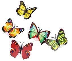Howley 3D Colorful Changing Butterfly Colorful LED Night Lig
