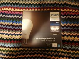 Philips Hue White A19 60W Equivalent LED Smart Bulb Starter