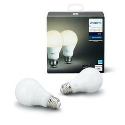 Philips Hue White A19 60W Equivalent Dimmable Led Smart Bulb