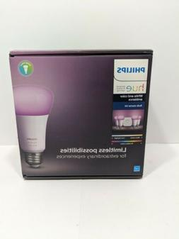 Philips Hue White & Color Ambiance A19 Starter Kit  471960 *