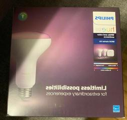 Philips Hue White and Color Ambiance BR30 Starter Kit . Newe