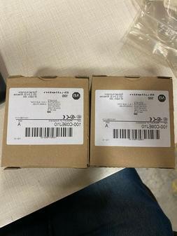 NEW ALLEN-BRADLEY IEC 100C09EJ10 STANDARD CONTACTOR 9 AMP 24
