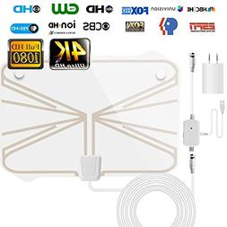 Indoor Amplified TV Antenna ,HD Digital TV Antenna 60-1
