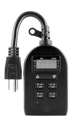 myTouchSmart Indoor / Outdoor Plug-In Digital Timer, One Gro