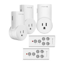 Etekcity Indoor Wireless Remote Controll Outlet Electrical L